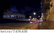 Бульварное кольцо, таймлапс. Стоковое видео, видеограф Андрей Леонидов / Фотобанк Лори