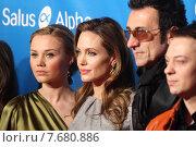 Berlin, Germany, Alma Terzic, Angelina Jolie and Branko Djuric, actor (2012 год). Редакционное фото, агентство Caro Photoagency / Фотобанк Лори