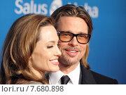 Berlin, Germany, Angelina Jolie, actress and Brad Pitt, actor (2012 год). Редакционное фото, агентство Caro Photoagency / Фотобанк Лори