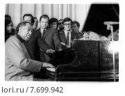 Дюк Эллингтон - пианист, аранжировщик, композитор, 1971 год. Редакционное фото, фотограф Борис Кавашкин / Фотобанк Лори