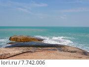 Самуи. Морской пейзаж в районе Ламаи (2014 год). Стоковое фото, фотограф Andrei Leventcov / Фотобанк Лори