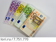 Купить «europe table money currency cash», фото № 7751770, снято 20 февраля 2019 г. (c) PantherMedia / Фотобанк Лори