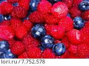 Вкусные свежие ягоды. Стоковое фото, фотограф Оксана Дорохина / Фотобанк Лори