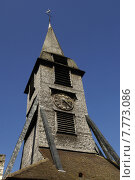 Купить «church of Honfleur in Normandy», фото № 7773086, снято 20 сентября 2018 г. (c) PantherMedia / Фотобанк Лори