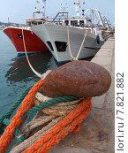 Купить «fishing boat», фото № 7821882, снято 18 июня 2019 г. (c) PantherMedia / Фотобанк Лори