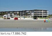 Отель на берегу моря (2015 год). Редакционное фото, фотограф Наталья Лабуз / Фотобанк Лори