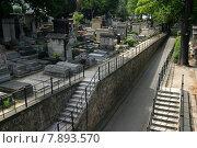Купить «france paris stairs cemetery grave», фото № 7893570, снято 24 января 2019 г. (c) PantherMedia / Фотобанк Лори
