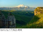 Купить «Утро в горах Кавказа», фото № 7922494, снято 21 июля 2015 г. (c) александр жарников / Фотобанк Лори