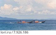 На каноэ. Острова Индийского океана, Таиланд. Редакционное фото, фотограф Виталий Булыга / Фотобанк Лори
