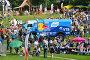 Праздник Сабантуй в Коломенском парке в Москве 18 июля 2015, эксклюзивное фото № 7933390, снято 18 июля 2015 г. (c) lana1501 / Фотобанк Лори