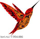 Колибри. Стоковая иллюстрация, иллюстратор Буркина Светлана / Фотобанк Лори