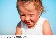 Купить «Портрет маленькой девочки», фото № 7980810, снято 24 июня 2015 г. (c) Морозова Татьяна / Фотобанк Лори