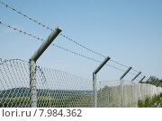 Купить «safety security post fence barrier», фото № 7984362, снято 23 марта 2019 г. (c) PantherMedia / Фотобанк Лори