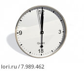 Купить «modern time 3d evening clock», фото № 7989462, снято 24 января 2019 г. (c) PantherMedia / Фотобанк Лори