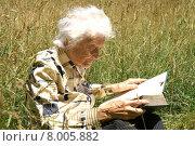 Купить «woman green leisure old fun», фото № 8005882, снято 19 августа 2019 г. (c) PantherMedia / Фотобанк Лори