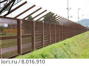 Купить «protection post fence protect barrier», фото № 8016910, снято 23 марта 2019 г. (c) PantherMedia / Фотобанк Лори