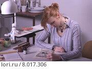 Купить «woman female girl business image», фото № 8017306, снято 16 июля 2019 г. (c) PantherMedia / Фотобанк Лори