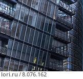 Купить «modern architecture detail facade skew», фото № 8076162, снято 19 июля 2018 г. (c) PantherMedia / Фотобанк Лори