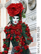 Купить «woman costume mask carnival venice», фото № 8080626, снято 21 августа 2019 г. (c) PantherMedia / Фотобанк Лори