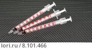 Купить «syringe injection diabetes insulin diabetic», фото № 8101466, снято 27 марта 2019 г. (c) PantherMedia / Фотобанк Лори