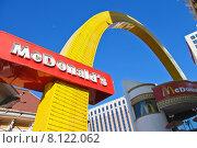 Ресторан McDonald's в Лас-Вегасе (2013 год). Редакционное фото, фотограф Николай Кокарев / Фотобанк Лори