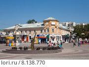Площадь около центрального рынка в Белгороде (2015 год). Редакционное фото, фотограф Галина Лукьяненко / Фотобанк Лори