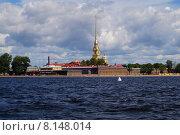 Купить «Петропавловская крепость», фото № 8148014, снято 21 июля 2015 г. (c) Константин Кург / Фотобанк Лори