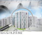 Купить «Здания под лупой», иллюстрация № 8213502 (c) Кирилл Черезов / Фотобанк Лори