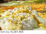 Купить «salt volcano eritrea sulphur vulcan», фото № 8287458, снято 23 января 2019 г. (c) PantherMedia / Фотобанк Лори