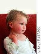 Купить «Портрет маленькой девочки», фото № 8287666, снято 18 июня 2015 г. (c) Морозова Татьяна / Фотобанк Лори