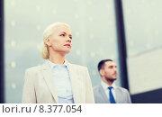 Купить «close up of serious businessmen», фото № 8377054, снято 19 августа 2014 г. (c) Syda Productions / Фотобанк Лори