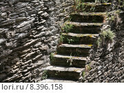 Купить «wall historical stairs steps fragile», фото № 8396158, снято 20 января 2020 г. (c) PantherMedia / Фотобанк Лори