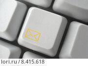 Купить «yellow computer message letter keyboard», фото № 8415618, снято 19 сентября 2018 г. (c) PantherMedia / Фотобанк Лори