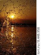 Купить «water sea ocean sunset salt», фото № 8448958, снято 23 января 2019 г. (c) PantherMedia / Фотобанк Лори