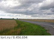 Купить «Белоруссия. Трасса Е95 (вид в сторону Могилева)», эксклюзивное фото № 8456694, снято 20 июля 2015 г. (c) Дмитрий Абушкин / Фотобанк Лори
