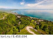 Купить «Вид на море, Новый Афон, Абхазия», фото № 8458694, снято 3 мая 2015 г. (c) Михаил Кочиев / Фотобанк Лори