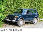 Купить «Lada Niva», фото № 8460638, снято 6 августа 2014 г. (c) Art Konovalov / Фотобанк Лори