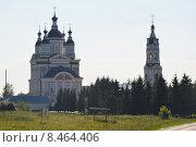 Наровчат. Троице-Сканов монастырь (2015 год). Редакционное фото, фотограф Павел Бодров / Фотобанк Лори