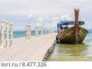 У причала. Индийский океан, Таиланд. Стоковое фото, фотограф Виталий Булыга / Фотобанк Лори