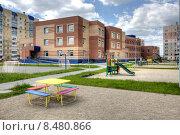 Детский сад в пос.Чурилово г.Челябинск (2014 год). Стоковое фото, фотограф Игорь Опойков / Фотобанк Лори