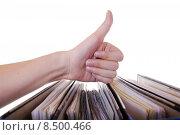 Купить «work office success job successful», фото № 8500466, снято 6 июля 2020 г. (c) PantherMedia / Фотобанк Лори