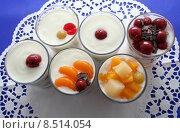 Купить «fruit dessert fruits yogurt progenies», фото № 8514054, снято 22 августа 2019 г. (c) PantherMedia / Фотобанк Лори