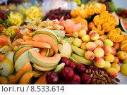 fruit much lot obsthaufen healthy. Стоковое фото, фотограф Stefan Redel / PantherMedia / Фотобанк Лори