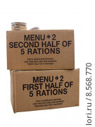 Купить «War rations», фото № 8568770, снято 20 июня 2019 г. (c) PantherMedia / Фотобанк Лори