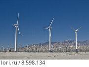 Купить «Wind farm in Palm Springs», фото № 8598134, снято 21 марта 2019 г. (c) PantherMedia / Фотобанк Лори