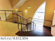 Купить «Лестница внутри торгового центра», эксклюзивное фото № 8612854, снято 18 апреля 2013 г. (c) Алёшина Оксана / Фотобанк Лори