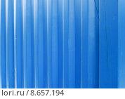 Купить «Blue Metal Texture», фото № 8657194, снято 21 июля 2018 г. (c) PantherMedia / Фотобанк Лори