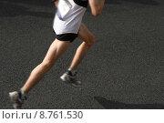 Купить «Marathon running», фото № 8761530, снято 16 декабря 2017 г. (c) PantherMedia / Фотобанк Лори