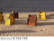 Купить «beach basket seaside seashore baskets», фото № 8764194, снято 19 октября 2018 г. (c) PantherMedia / Фотобанк Лори