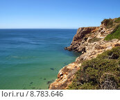 beach rock coast seaside portugal. Стоковое фото, фотограф Olaf Mades / PantherMedia / Фотобанк Лори